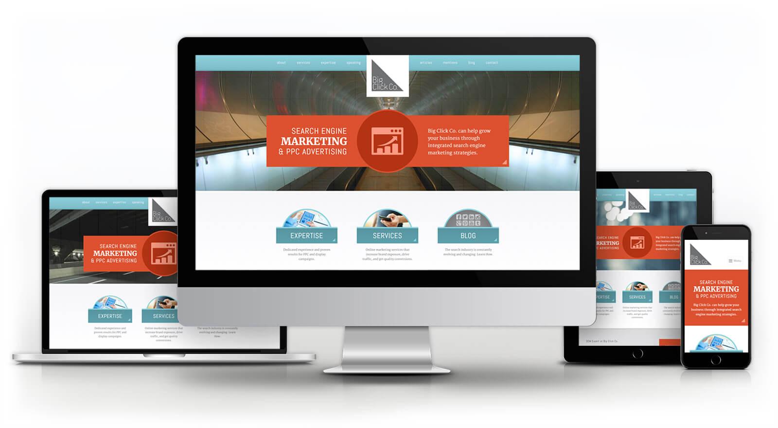 Big Click Co. - Website