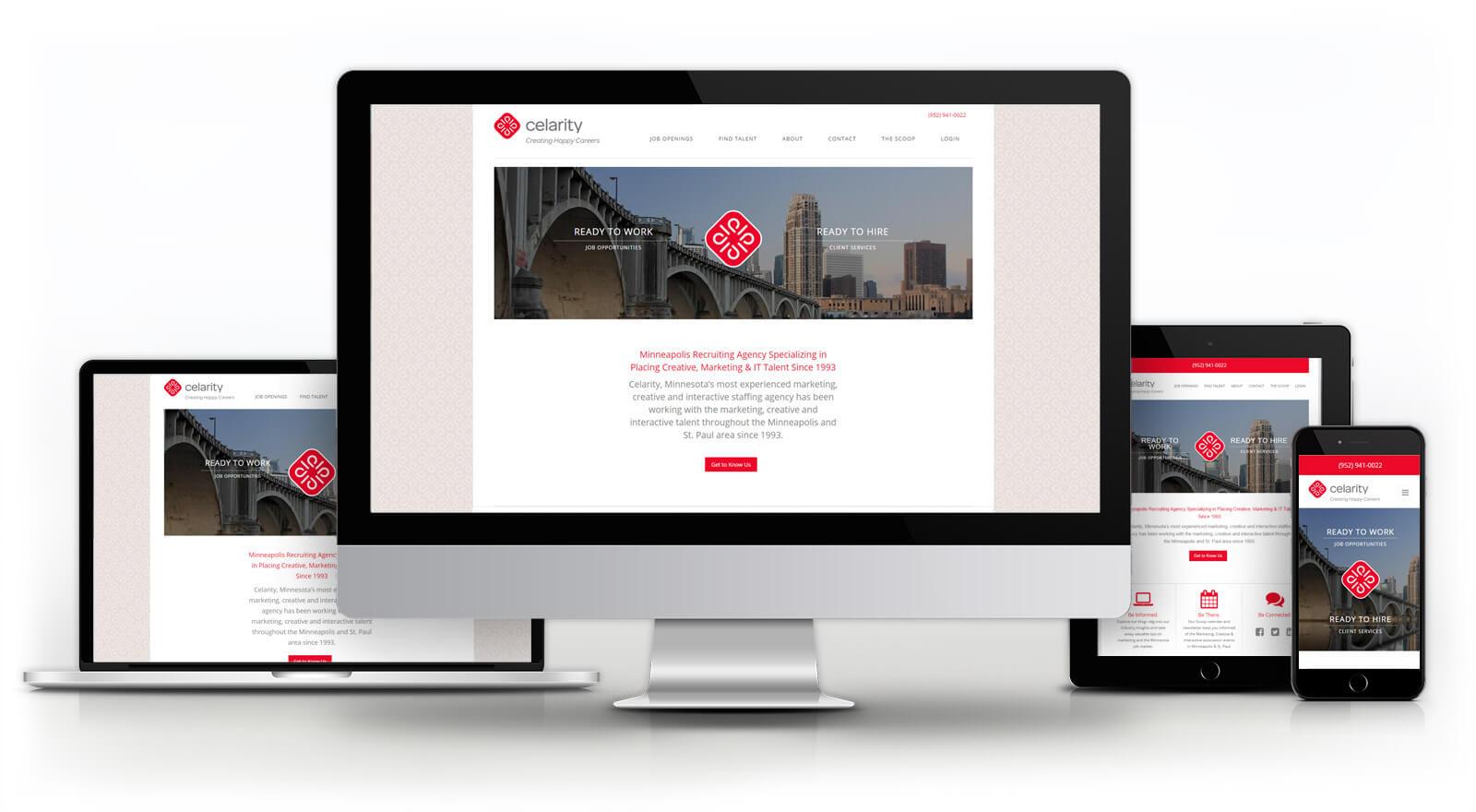 Celarity - Website