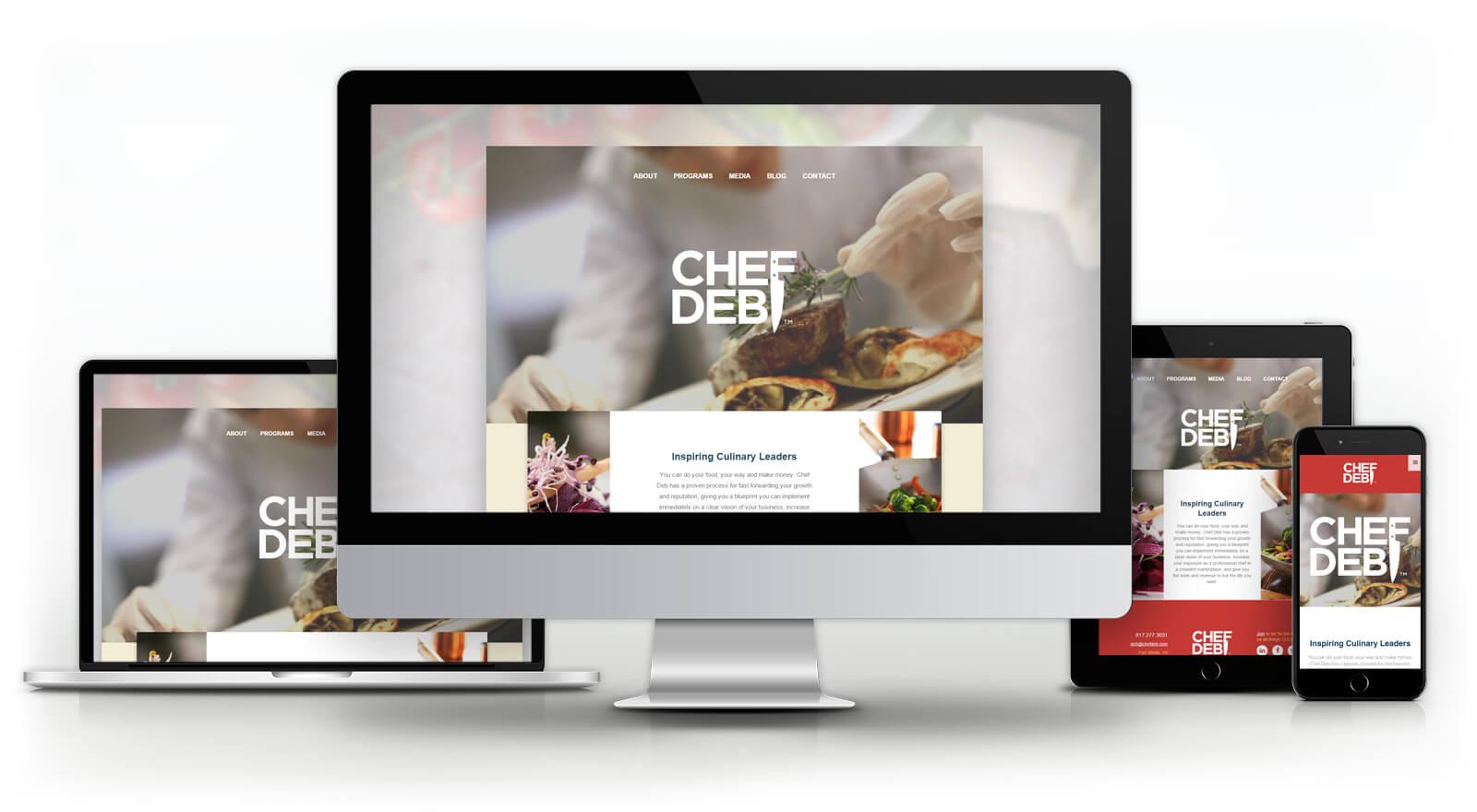 Chef Deb - Website