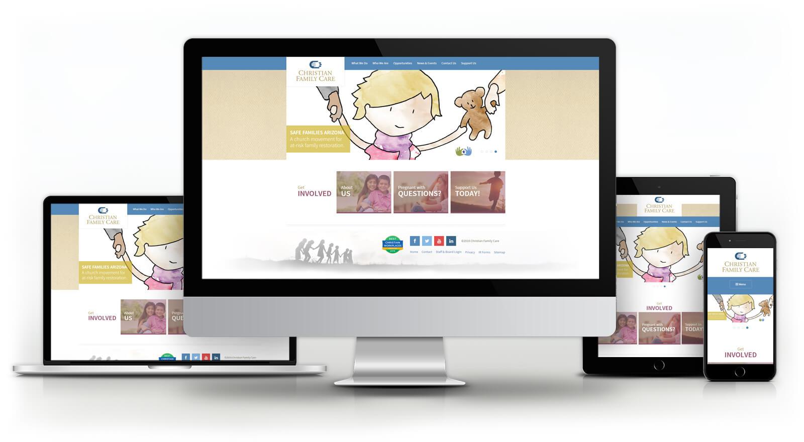 Christian Family Care - Website
