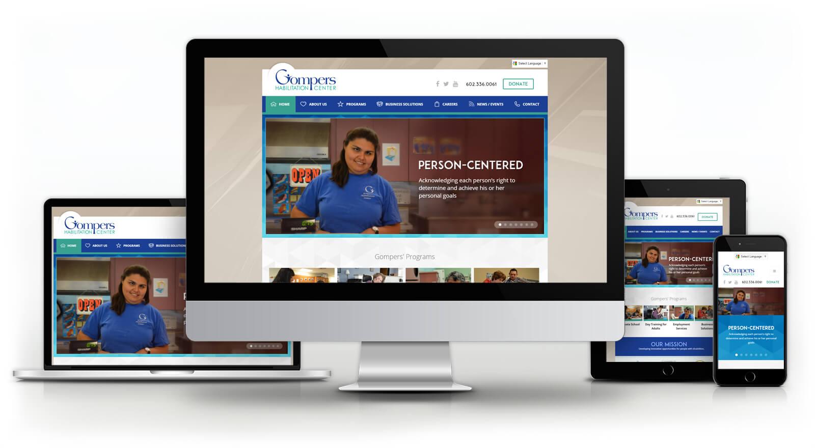 Gompers Habilitation Center - Website