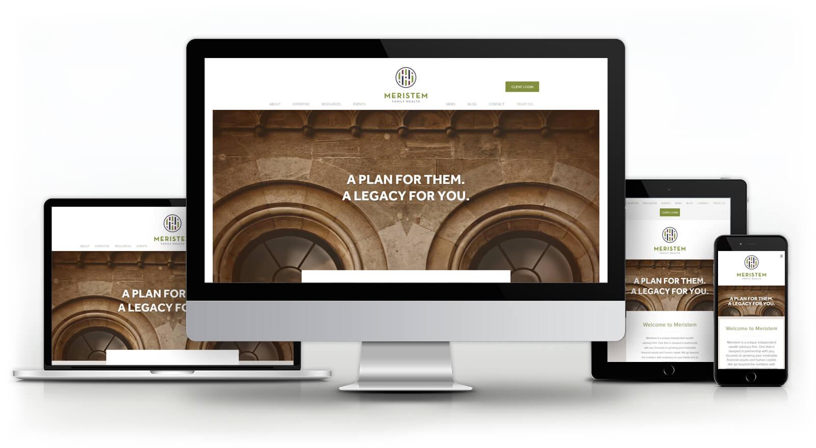 Meristem Family Wealth - Website